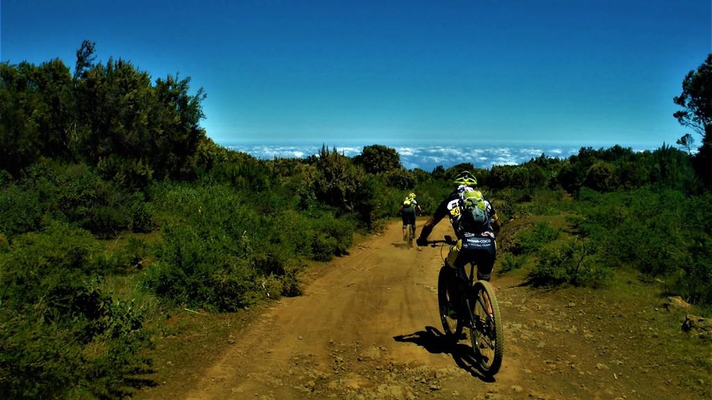 MTB 02. Between Niquiomo and the Teide  | Monday | 45€ | MTB + Speleology + Guide